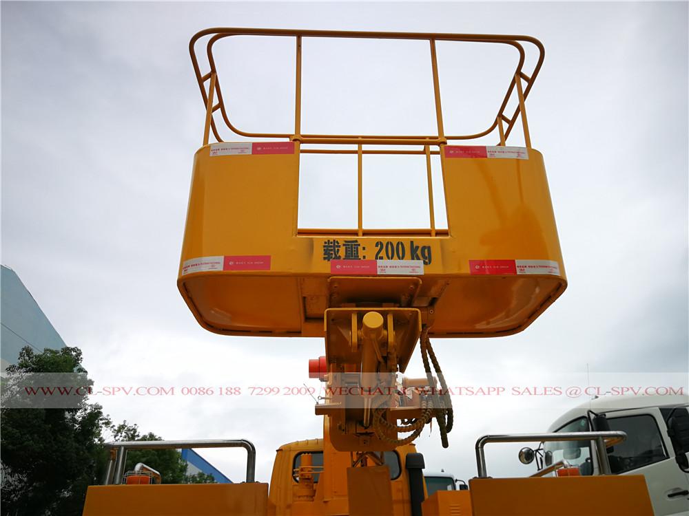 DFAC 16 متر شاحنة رافعة السلة التلسكوبية