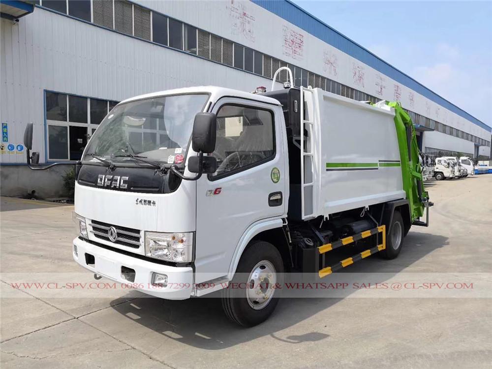 Dongfeng D6 Kompression Müllwagen