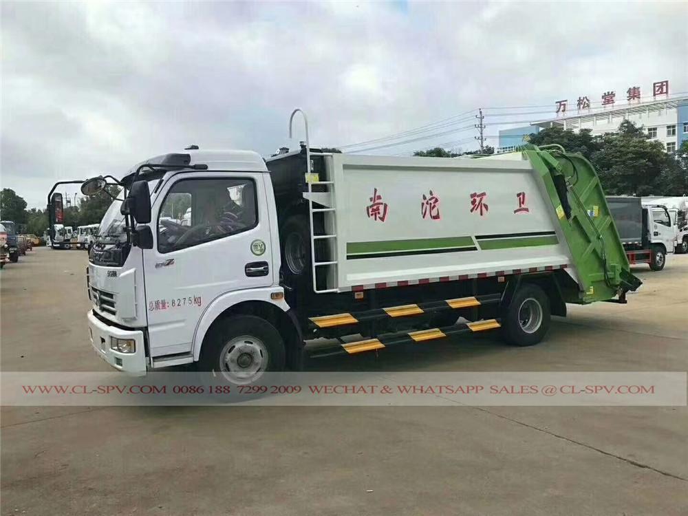 دونغفنغ شاحنة القمامة الضاغطة