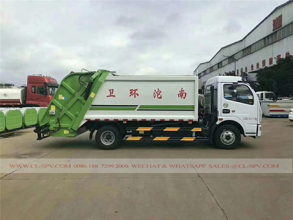 دونغفنغ D7 شاحنة ضغط القمامة
