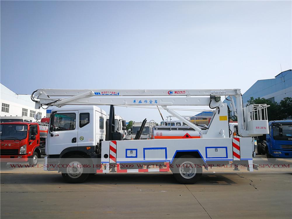 Dongfeng 20 метров антенны рабочей платформы грузовика