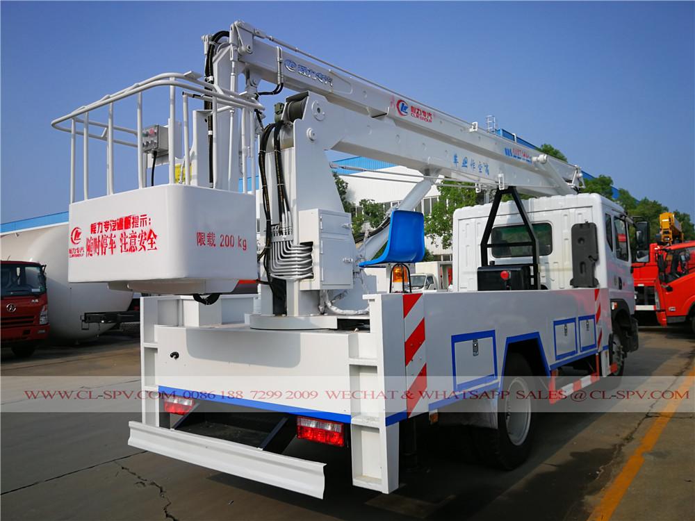 D9 aerial working platform truck