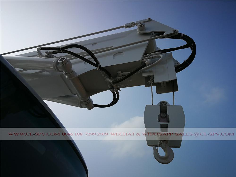 крюк крана на D9 воздушной платформе грузовика