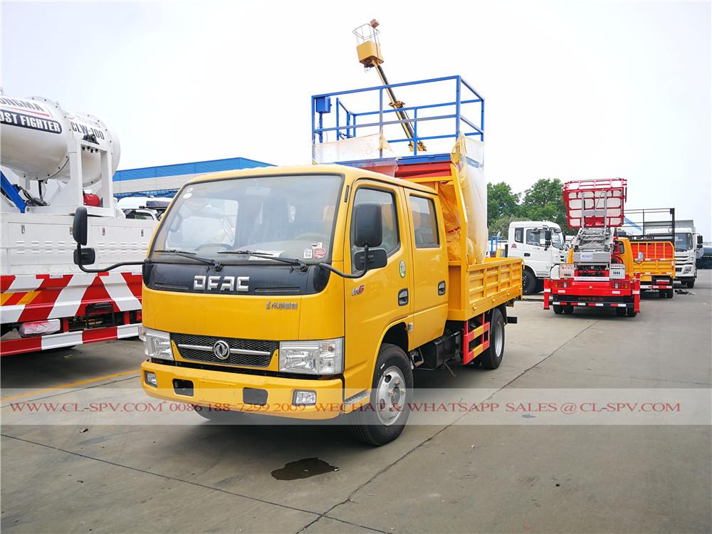 Dongfeng DCAF 10 mètres ciseau camion nacelle