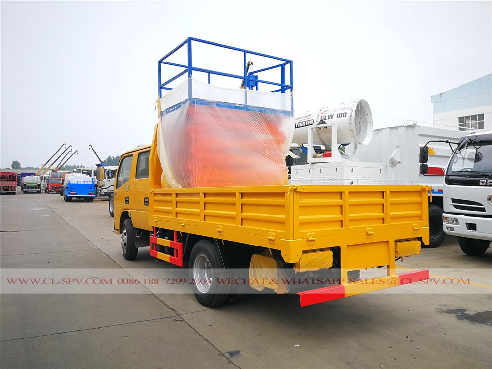 DCAF 10 mètres ciseaux camion nacelle élévateur
