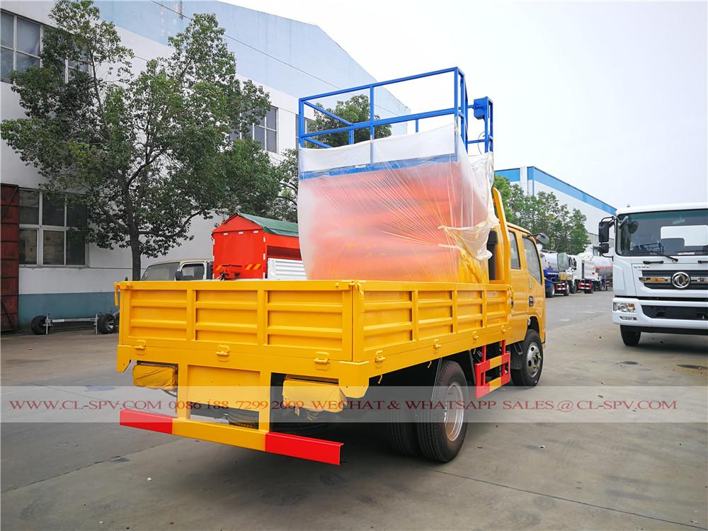 Dongfeng 10 mètres ciseaux camion nacelle élévateur