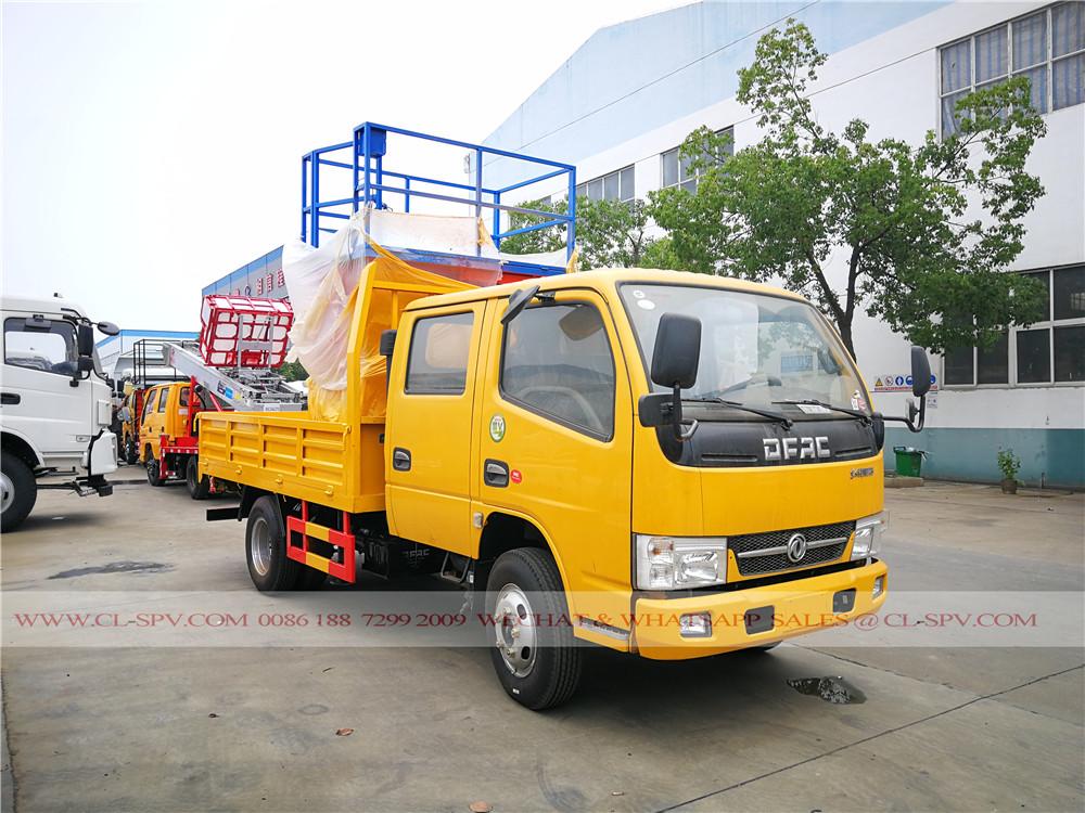 10 mètres ciseau camion nacelle