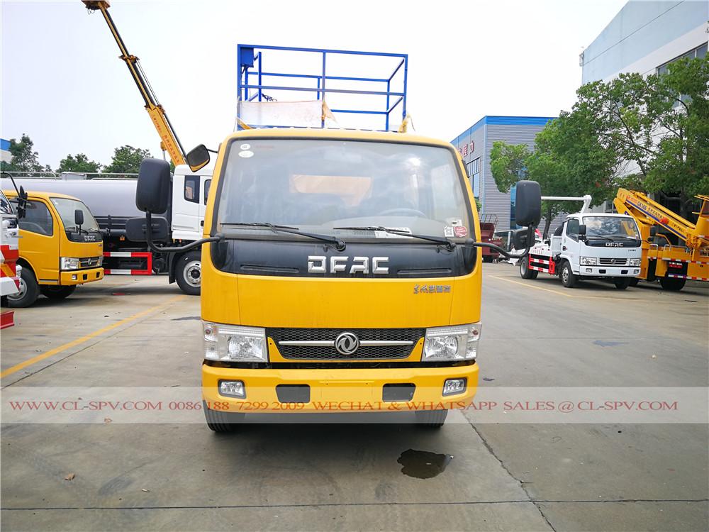 Dongfeng ciseaux camion nacelle élévateur