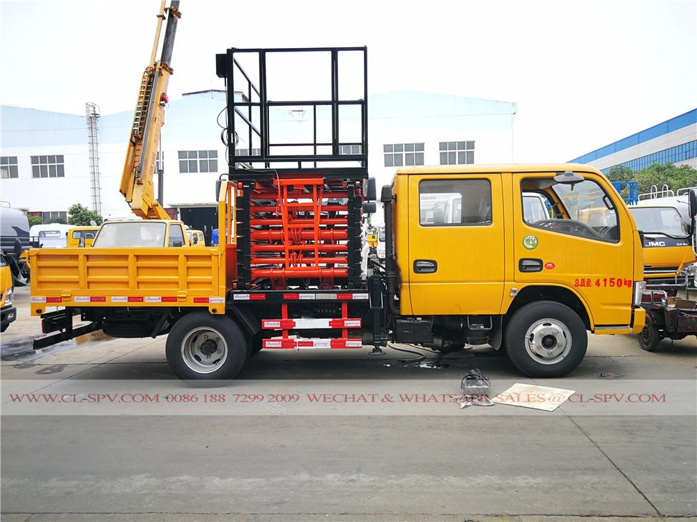 DCAF ciseaux camion nacelle élévateur