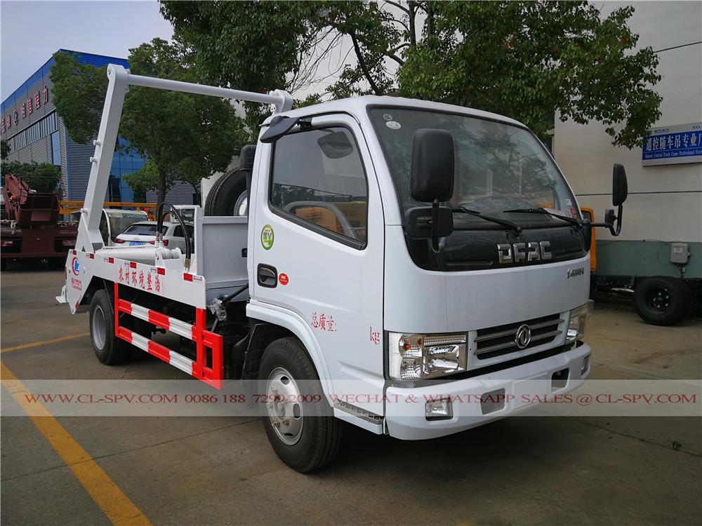 Dongfeng duolika Balançoire camion poubelle bras