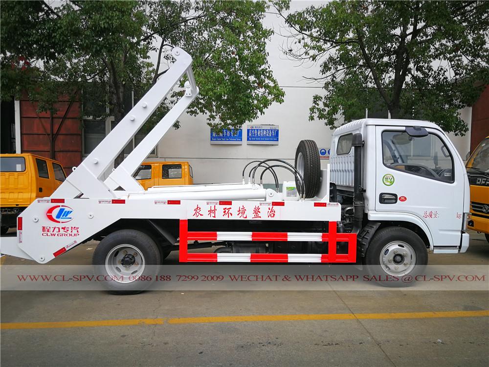 DCAF duolika bras oscillant camion à ordures