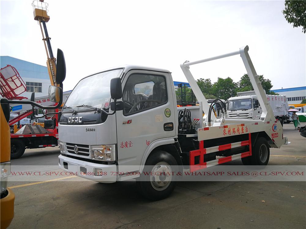 Dongfeng duolika oscilación del brazo de camiones de basura