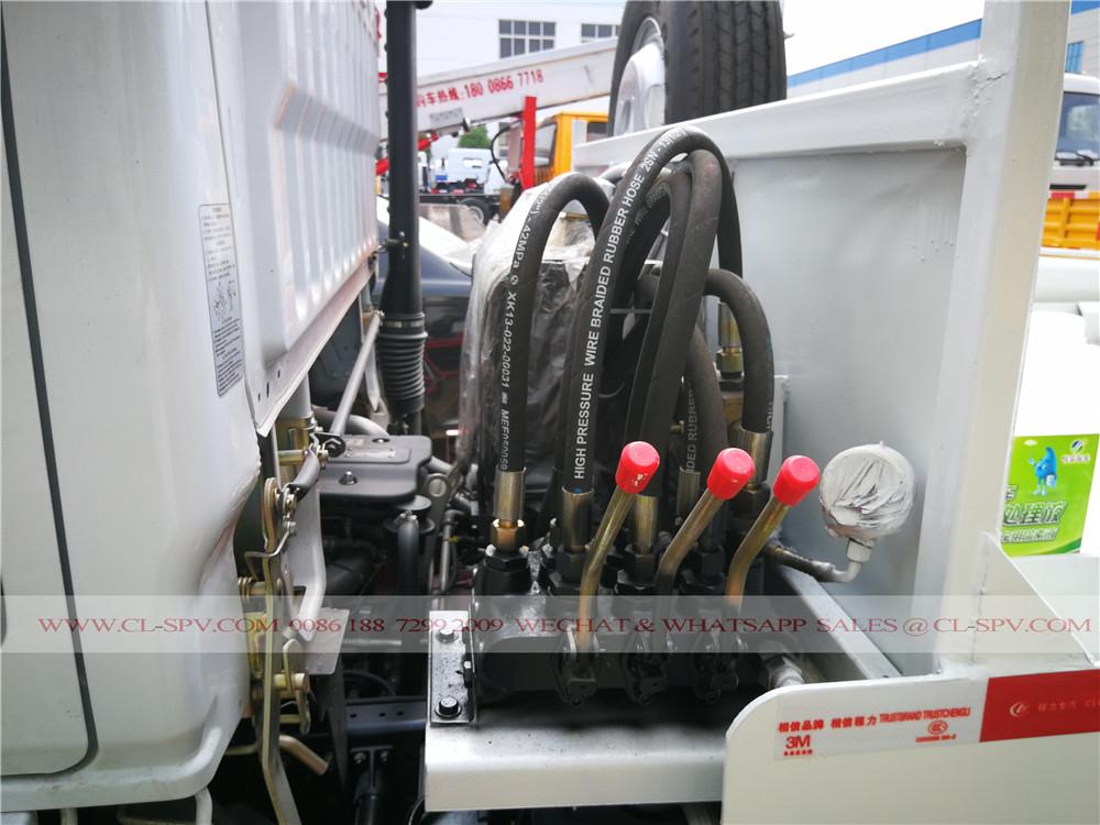 bras oscillant fabricant de camion à ordures