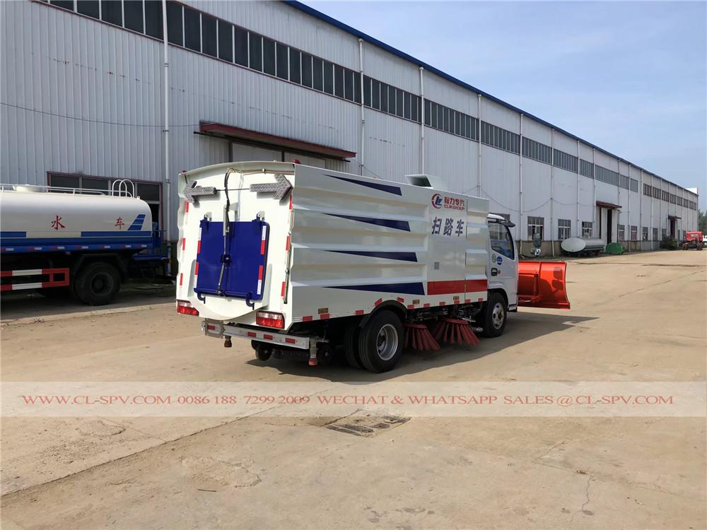 شاحنة كاسحة الطريق DFAC مع محراث الثلج 3 م