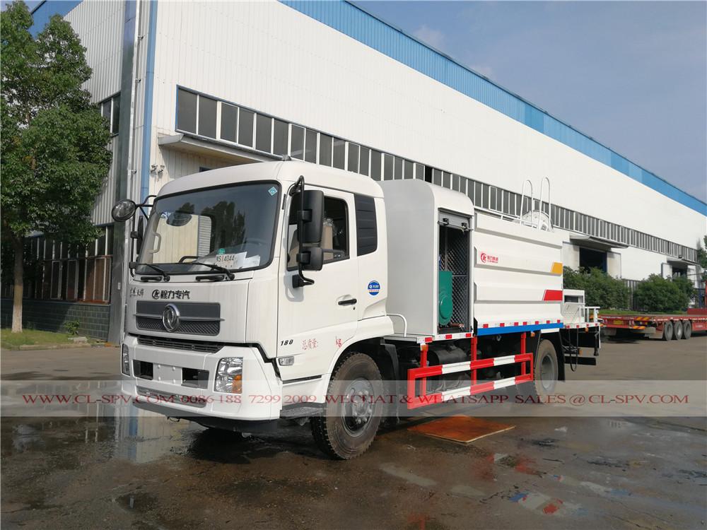 دونغفنغ تيانجين شاحنة الغبار قمع