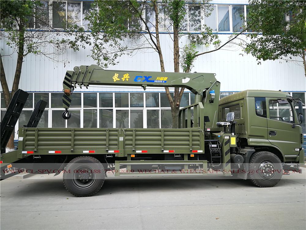 شاحنة دونغفنغ مع رافعة مشاهير الصين