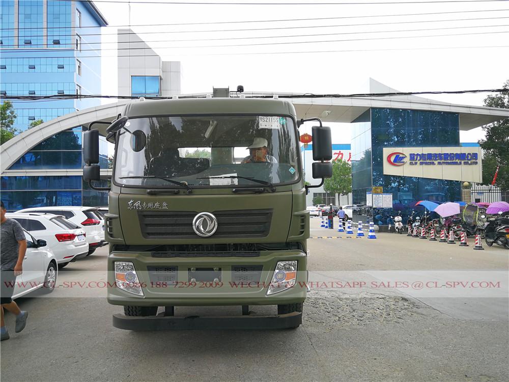সি এক্স সঙ্গে এর মধ্যে Dongfeng ট্রাক 10 tons crane from Chengli truck