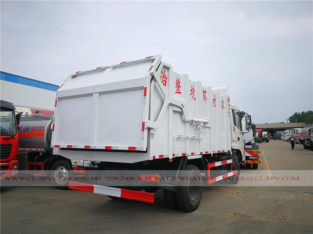 Dongfeng 16000 litres camion poubelle d'accueil