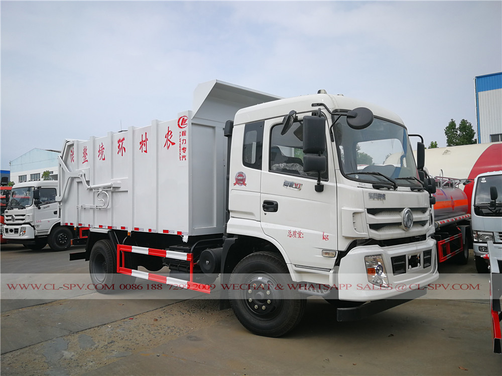 16000 liters docking garbage truck supplier