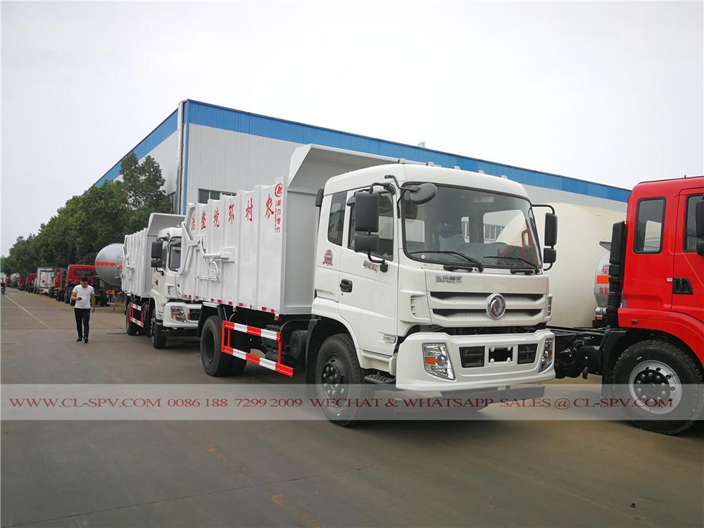 16000 litres fabricant accueil de camion à ordures