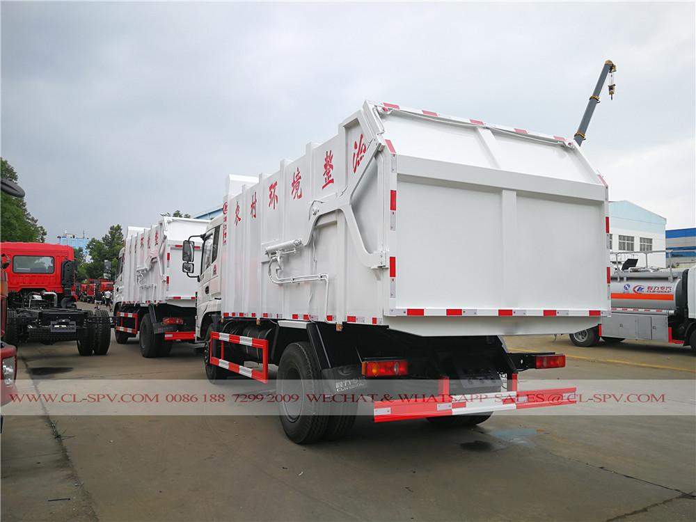 Dongfeng camion de transport des ordures