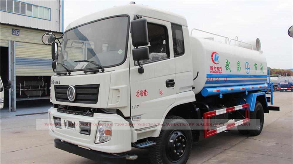Dongfeng 12000 litres camion-citerne avec canon à brouillard