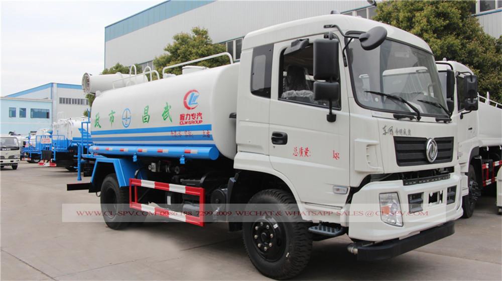 Dongfeng camion-citerne avec canon à brouillard