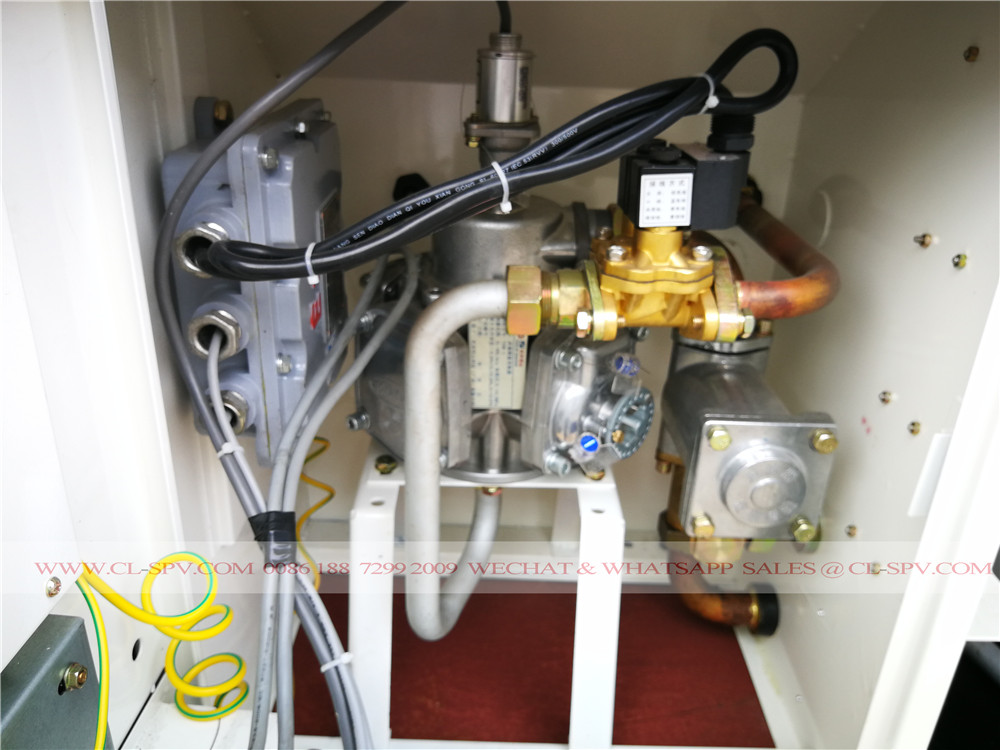 fuel Leak alarm machine on forland fuel truck