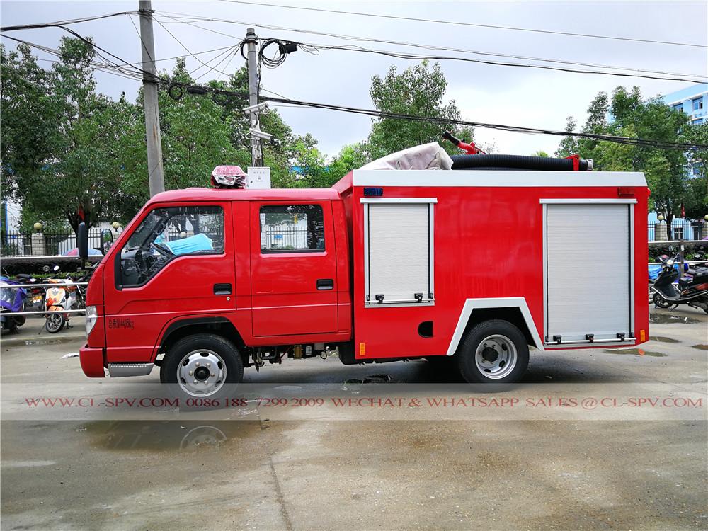 Foton fire fighting truck