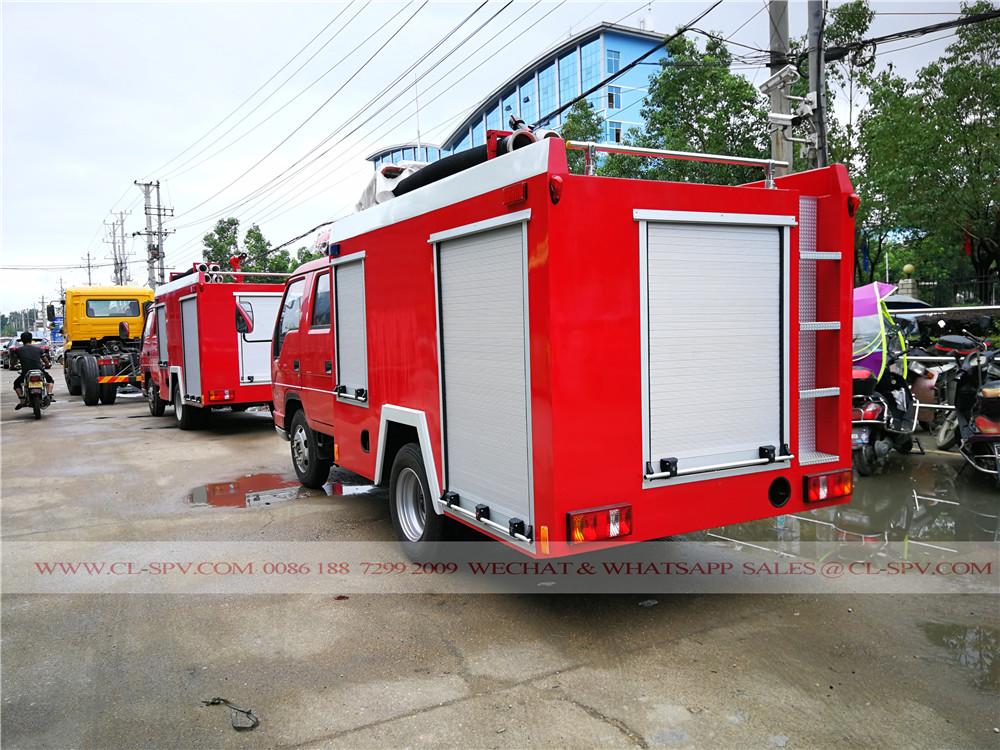Foton mini fire fighting truck