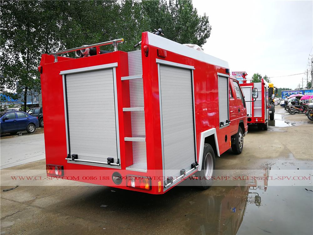 Foton foam fire fighting truck