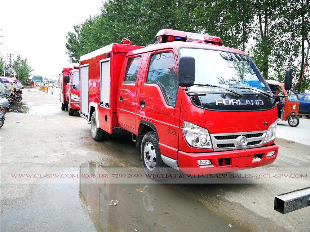 camion lutte contre l'incendie mousse Forland