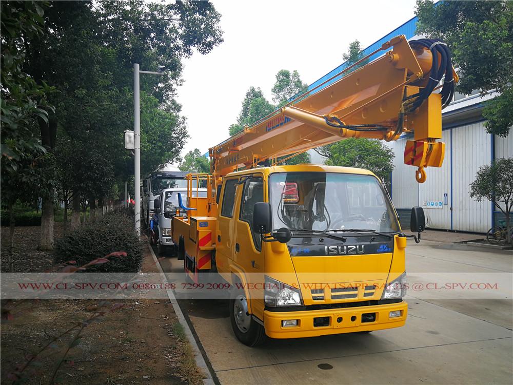 18 metros caminhão plataforma aérea