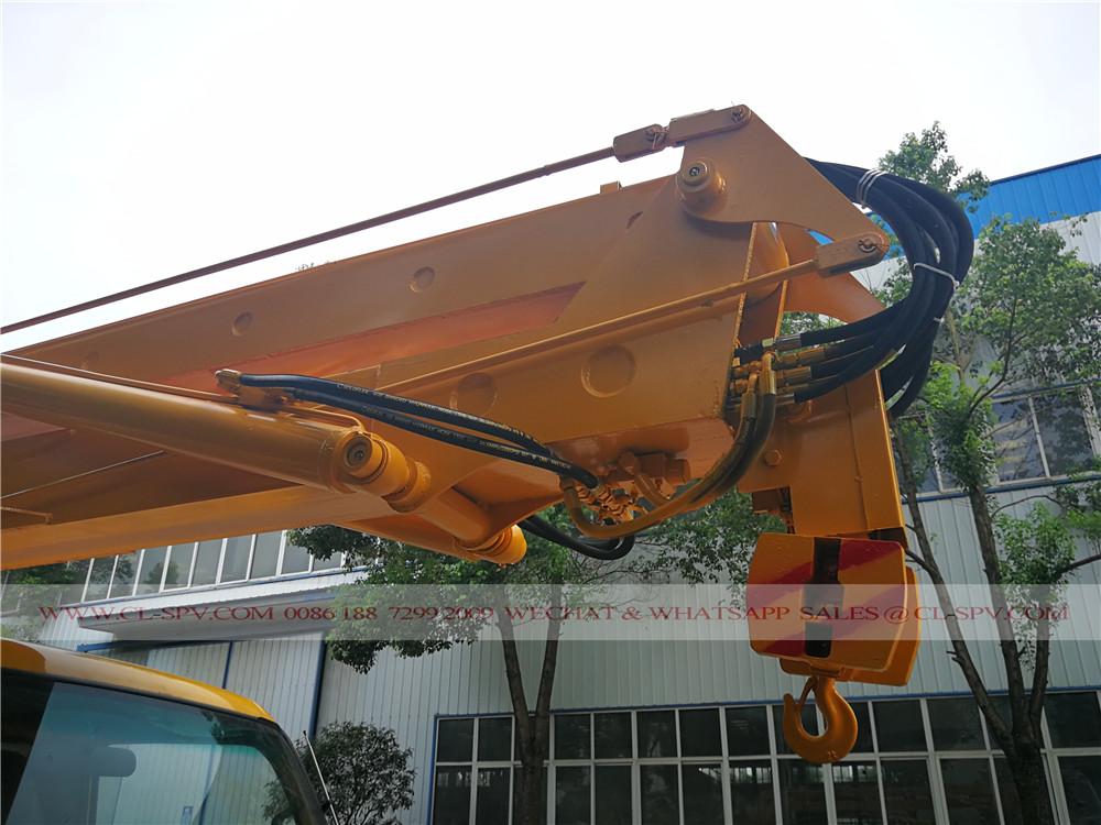 china aerial platform truck