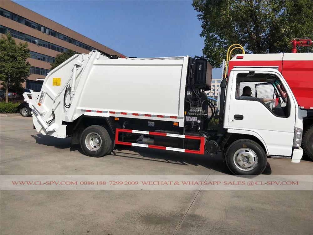 五十铃垃圾的卡车制造商