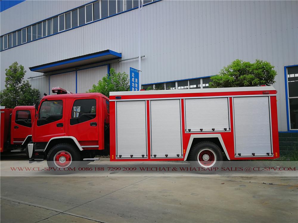 Überblick über Isuzu FTR Wasser Feuerwehr LKW