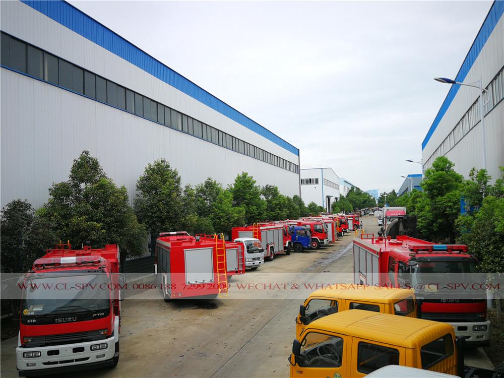 80 Einheiten von Isuzu FTR Löschfahrzeuge