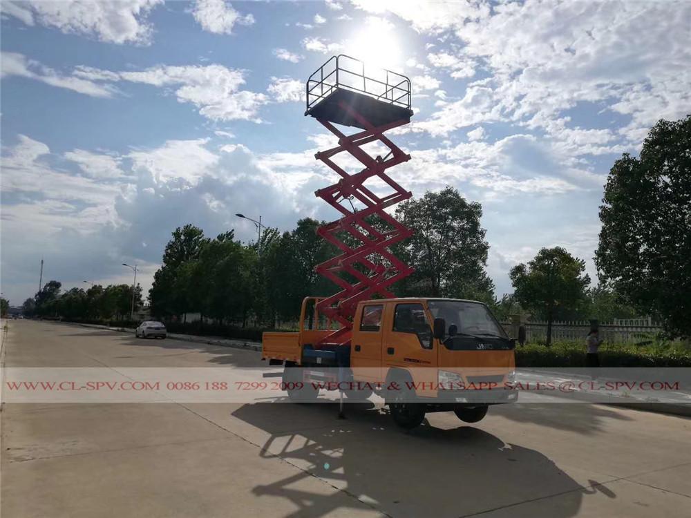 10 metros JMC Scissor Lift veículo plataforma de trabalho