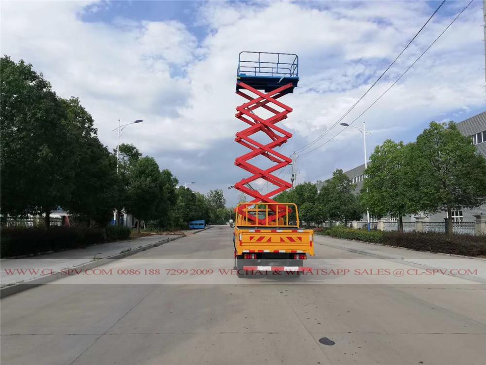 10 metros tesoura plataforma elevatória