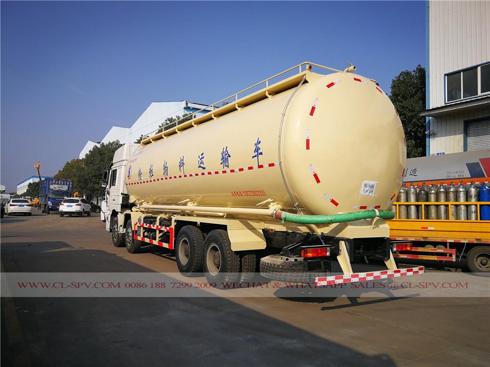 Shacman camión de transporte de cemento a granel