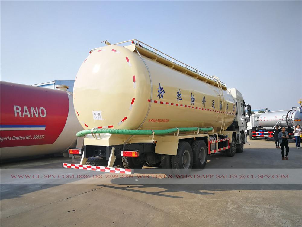 Shacman vehículo de transporte de cemento a granel