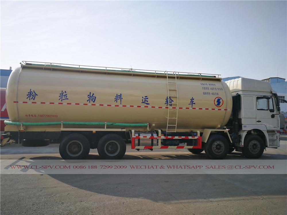 40000 los litros vehículo de transporte de cemento a granel