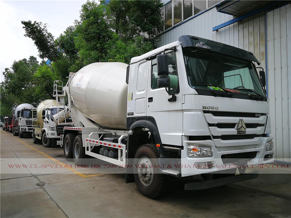 howo concrete mixer