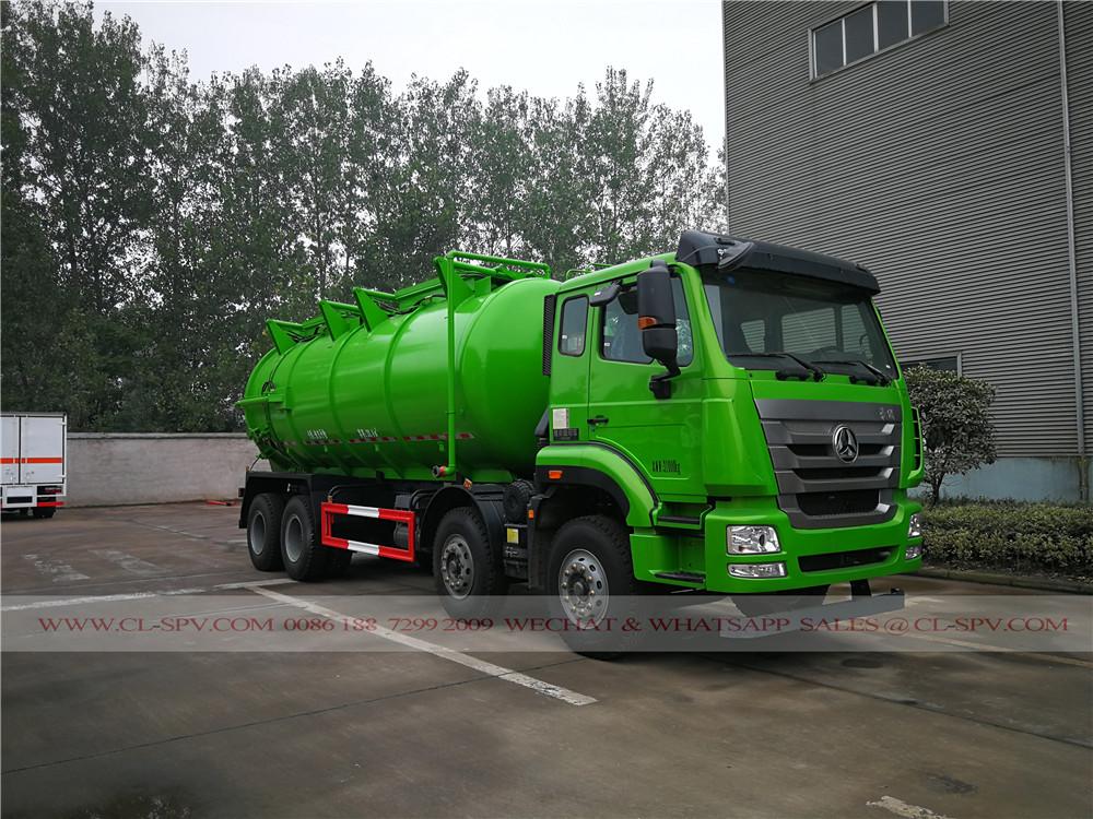 中国重汽重型污泥吸粪车