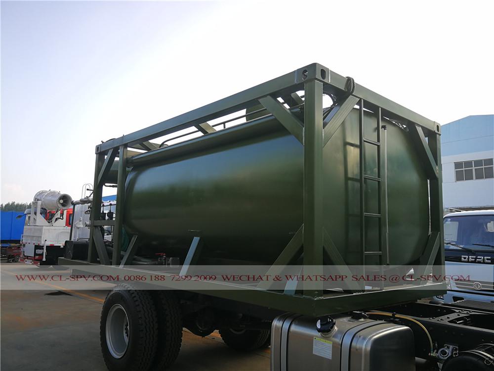 contenedor de supresión de polvo estilo de marco