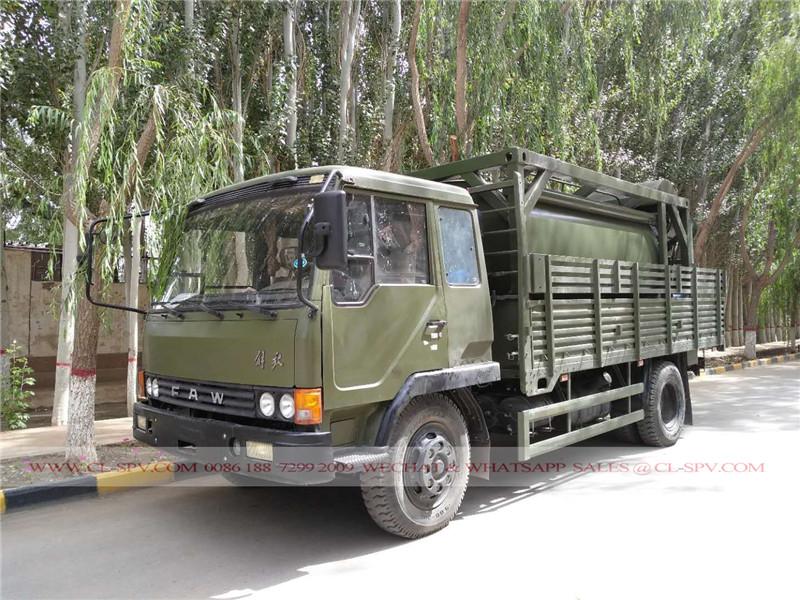 FAW camión de supresión de polvo