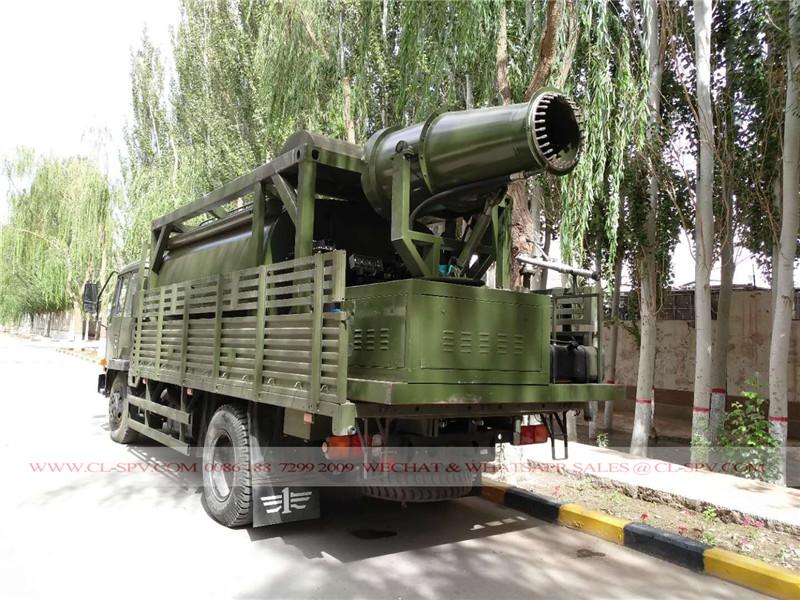 شاحنة الغبار قمع FAW مع دبابات الحاويات المحمول