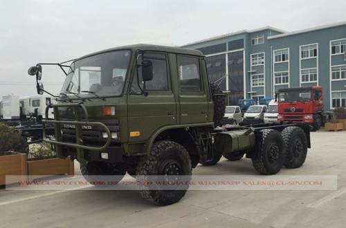 Dongfeng 4 Türen militärische Besatzung LKW-Chassis
