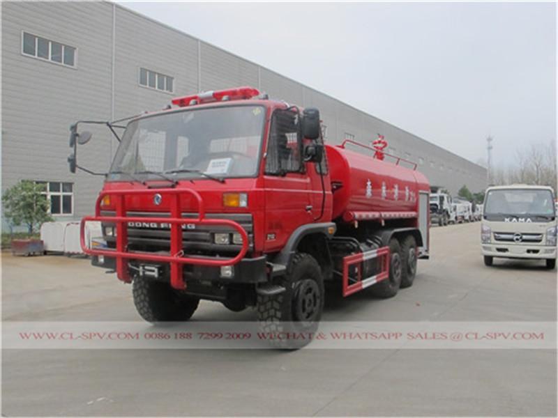 Dongfeng toutes roues motrices camion lutte contre l'incendie