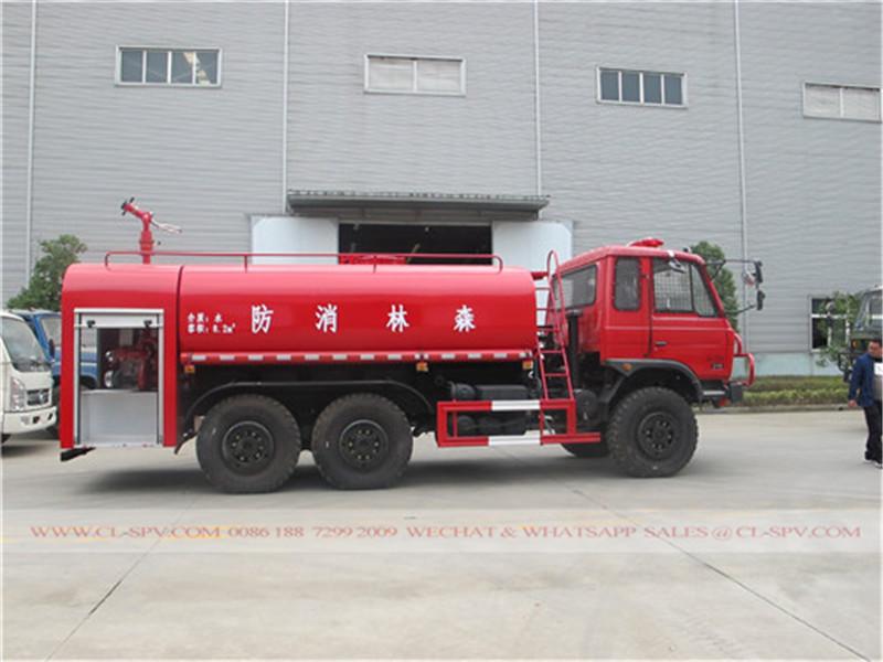 todas las ruedas motrices del fuego del agua de camiones de lucha